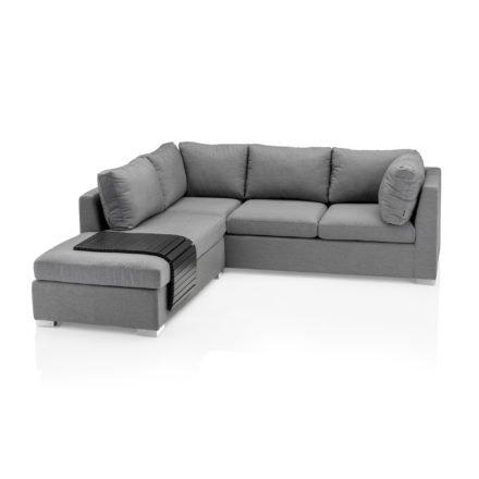 """Kettler """"Lavi"""" Loungeset, bestehend aus 3-Sitzer Sofa, Chaise Lounge sowie Tablett anthrazit"""