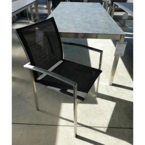 """SIT Mobilia Gartenmöbel-Set """"Brazil/Etna"""" – 8 Stühle und 1 Tisch"""