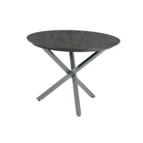 """SonnenPartner Tisch """"Base-Spectra"""", rund, Gestell Aluminium anthrazit, Tischplatte HPL Struktura anthrazit, Ø 134 cm"""