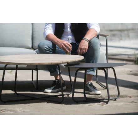 "4Seasons Outdoor Kaffee-Tisch ""Dali"", Aluminium anthrazit"