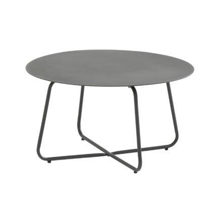 "4Seasons Outdoor Kaffee-Tisch ""Dali"", Aluminium anthrazit, ø 73 cm"
