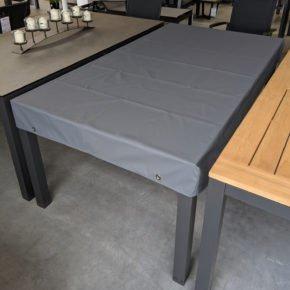 Gartenkultur Schutzhülle für rechteckige Tischplatten, Material SILK, Farbe grau