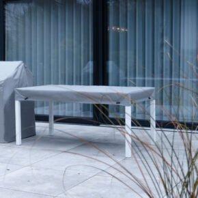 Gartenkultur Schutzhülle für rechteckige Tischplatten, Material SILK, Farbe: grau