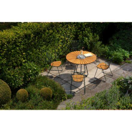"""Houe """"Circle"""" Gartentisch mit """"Paon"""" Gartenstühlen"""