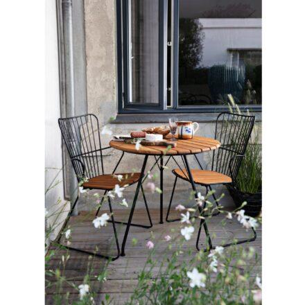 """Houe Gartentisch """"Circum"""" mit """"Paon"""" Gartenstühlen"""