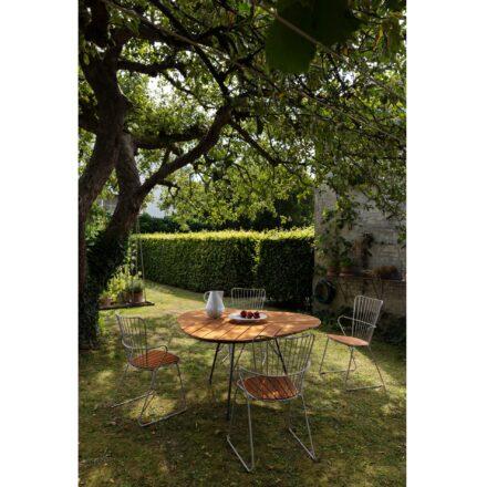 """Houe Gartentisch """"Leaf"""" mit """"Paon"""" Gartenstühlen"""