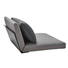"""Solpuri """"Boxx"""" Top-Modul Sitz-Rücken mit Lehne anthrazit"""