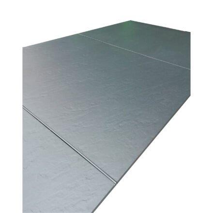 Kettler Tischplatte Kettalux Plus, in Größe 220x95 cm 3-teilig, hier Dekor anthrazit (Schieferoptik)