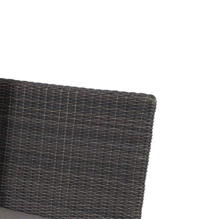"Siena Garden Lounge-Seitenteil rechts ""Corido"", Gestell Aluminium anthrazit, Geflecht charcoal grey"