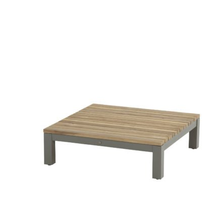 "4Seasons Outdoor Loungetisch ""Fidji"", Gestell Aluminium Smoke grey, Teak Instant grey"