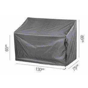 AeroCover Schutzhülle für Bank – 130x75 cm, Höhe 65/85 cm