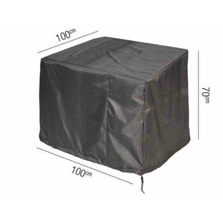 AeroCover Schutzhülle für Loungesessel – 100x100 cm, Höhe 70 cm