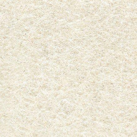 Fast Filz aus 100% Wolle, Farbe Weiß (FBI)