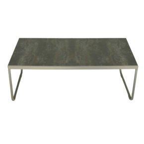 """SIT Mobilia Loungetisch """"Carvallo"""", Gestell Aluminium, Tischplatte Keramik"""