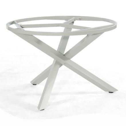 """SonnenPartner Tischgestell """"Base-Spectra"""", Aluminium silber, für Tischplatte Ø 130 bzw. 134 cm"""