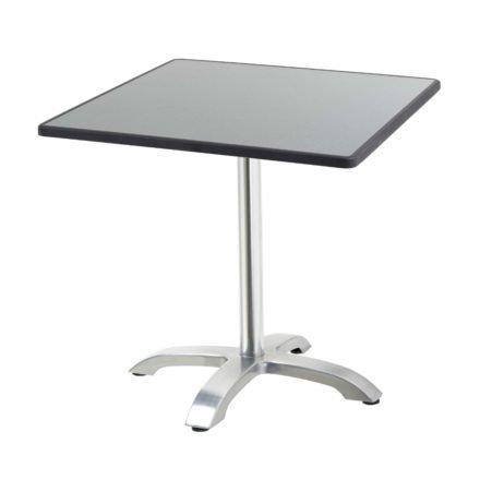 """Diamond Garden Tisch """"Cella"""", Gestell Aluminium, Tischplatte DiGalit, Punti, 70x70 cm"""