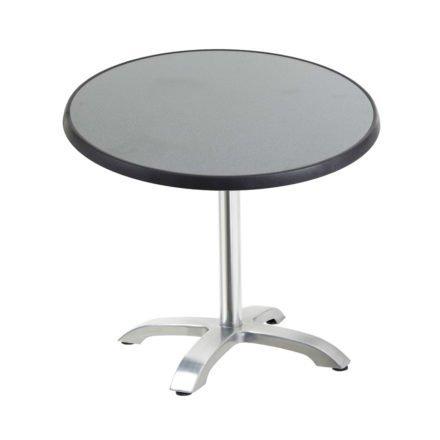 """Diamond Garden Tisch """"Cella"""", Gestell Aluminium, Tischplatte DiGalit, Punti, Ø 70 cm"""