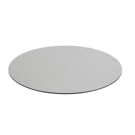 Diamond Garden DiGa Compact HPL-Tischplatte mit 20° Fase, Beton hell, Ø 68 cm