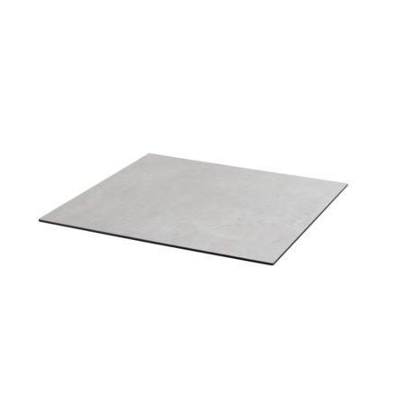 Diamond Garden DiGa Compact HPL-Tischplatte mit 20° Fase, Beton hell, 68x68 cm