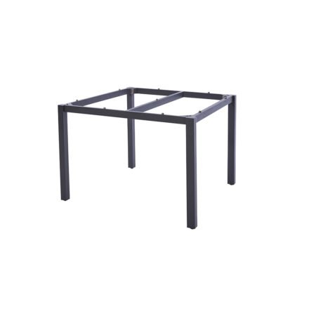 "Diamond Garden Tischgestell ""San Marino"", Edelstahl dunkelgrau, 100 cm"