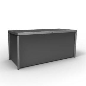 "Kettler Kissenbox ""Kettcase"", Stahlblech anthrazit, 185x75x75 cm"