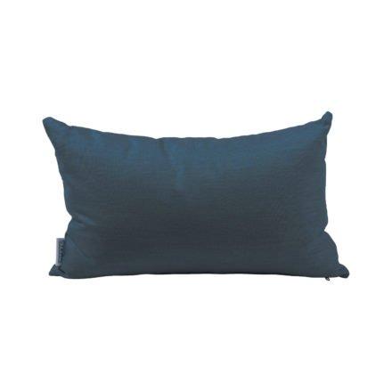 Stern Dekokissen 35x55cm, Dessin dunkelblau