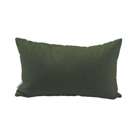 Stern Dekokissen 35x55cm, Dessin dunkelgrün
