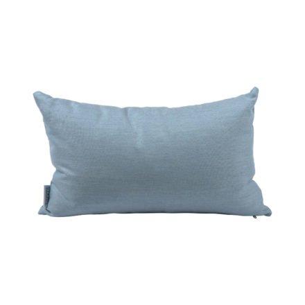 Stern Dekokissen 35x55cm, Dessin hellblau