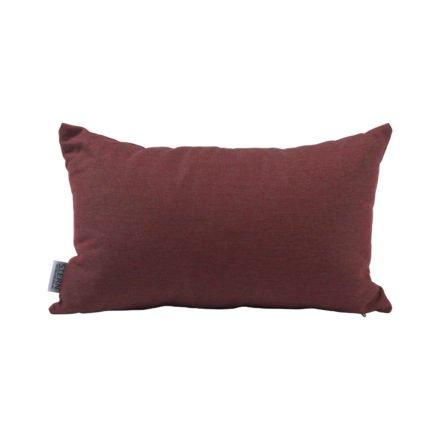 Stern Dekokissen 35x55cm, Dessin rot