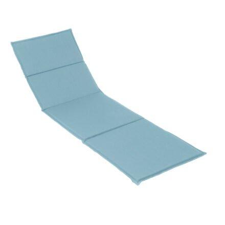 Stern Liegenauflage 201x67x3 cm, Dessin hellblau