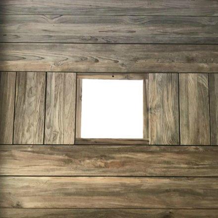 "Zebra Gartentisch ""Quadux"", Tischplatte Teakholz recycelt/Old Teak, Beispiel Oberflächenbeschaffenheit"