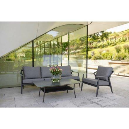 """Loungeset """"Vanda"""" der Marke Stern bestehend aus 3-Sitzer, Loungesessel und Loungetisch"""