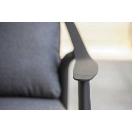 "Loungesofa 3-sitzig ""Vanda"" der Marke Stern, Gestell Aluminium anthrazit"
