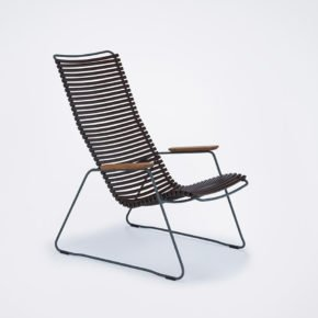"Houe ""Click"" Lounge Chair, Farbe dunkelbraun"
