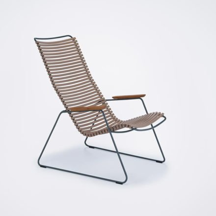 "Houe ""Click"" Lounge Chair, Farbe sand"