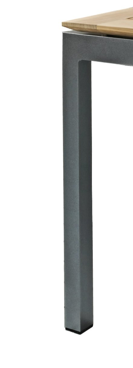 "SIT Mobilia Gartentisch ""Etna"", Gestell Aluminium eisengrau"