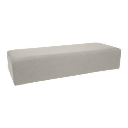 "Stern 3-Sitzer Loungemodul ""Domino"", Untergestell Aluminium, Bezug Outdoorstoff grau"