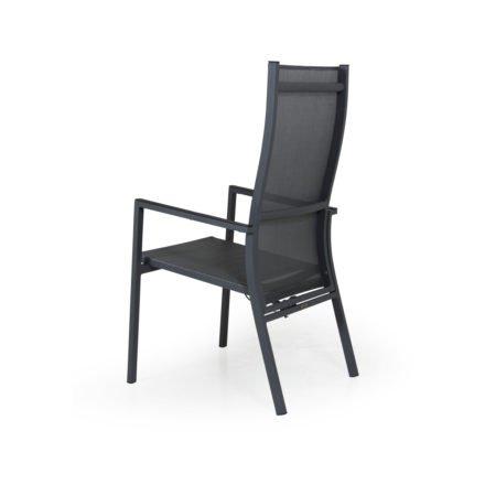 """Brafab Positionsstuhl/Hochlehner """"Avanti"""", Gestell Aluminium, Sitzfläche Textilgewebe (Farbe weicht ab)"""