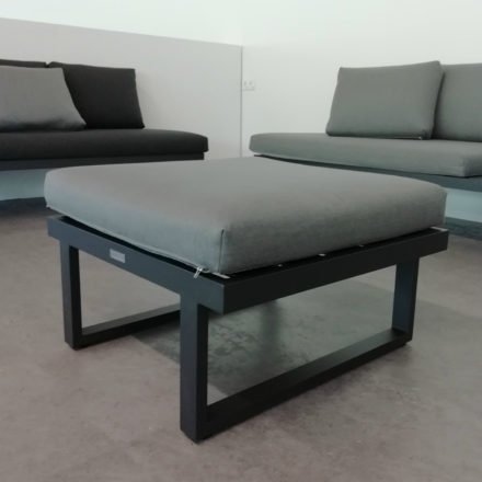 "Gartenkultur Sitzkissen für Jati&Kebon 1-Sitzer Modul ""Rao"", Natté charcoal chiné, 70x70 cm"