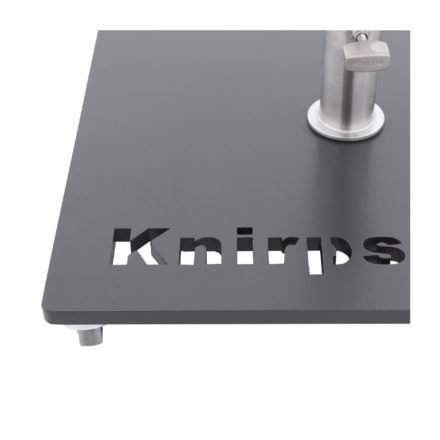 """Knirps Stahl-Rollsockel mit Aufsatzrohr Edelstahl und vier Rollen für Sonnenschirm """"Automatic"""""""