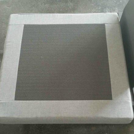 "Jati&Kebon Loungeserie ""Virginia"", Gestell Aluminium eisengrau mit HPL, Sitzpolster schiefergrau (slate), Sunbrella® Qualität, Rückseite"