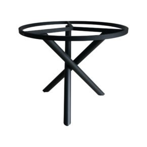 """Zebra Tischgestell """"Mikado"""", Aluminium graphite, Ø 90 cm für Tischplatten mit Ø 110 cm"""