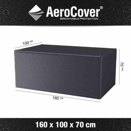 AeroCover Schutzhülle für Gartentisch – 160x100 cm, Höhe 70 cm