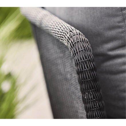"Cane-line ""Horizon"" Loungesofa, Cane-line Weave® schwarz"