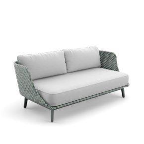 """DEDON 3er Sofa """"MBARQ"""", Geflecht baltic"""