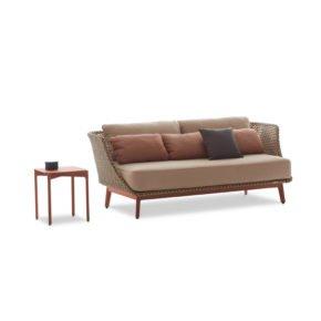 """DEDON 3er Sofa """"MBARQ"""" mit Kaffeetisch """"IZON"""""""