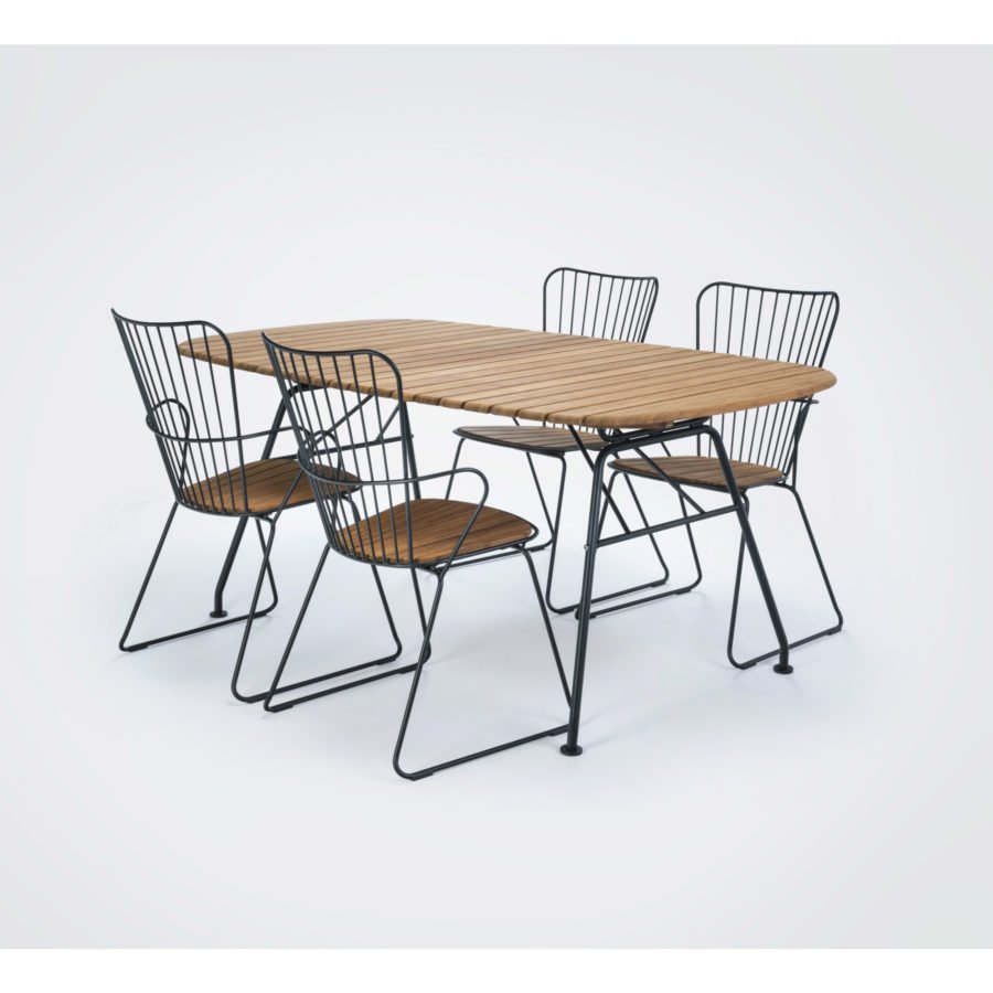 Houe PAON Dining Chair Gestell paprika paprika