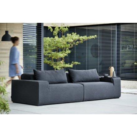 """Kettler """"Royal"""" Lounge Seitenteil links + rechts, Gestell Aluminium, Polster Textilgewebe Sunbrella® anthrazit"""