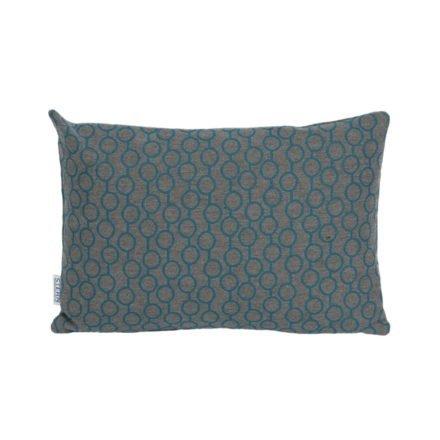 Stern Dekokissen 30x45cm, Dessin Kreise blau, Sunbrella®