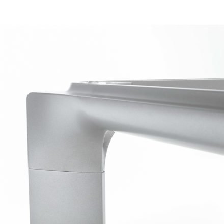 """Kettler """"Diamond"""" Tischgestell Aluminium silber"""